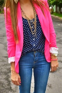 jeans color jacket