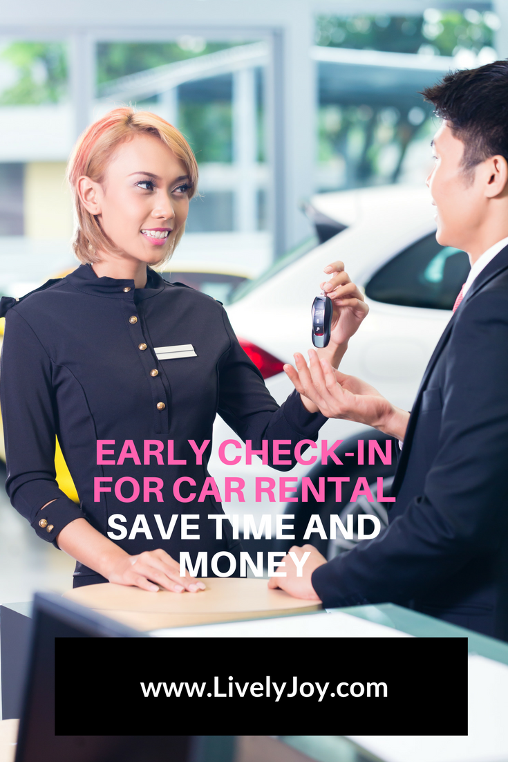 Early check-in car rental