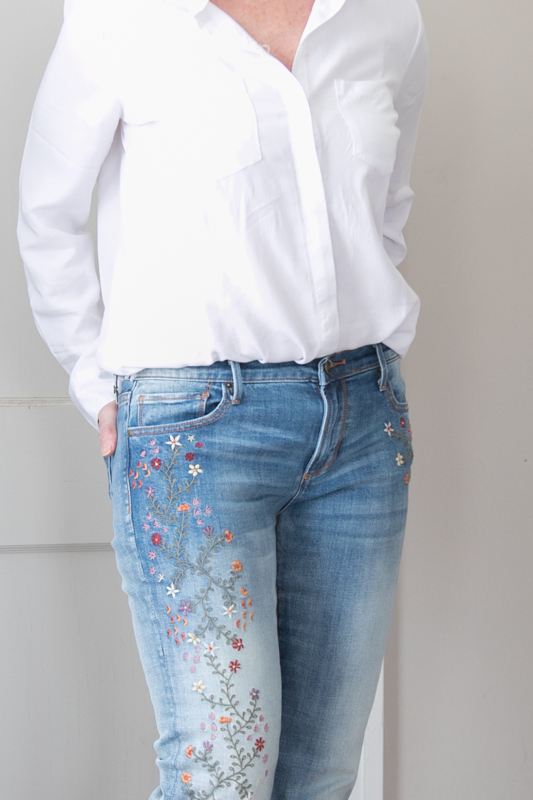 Neutrals style jeans