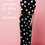 When and How To Wear A Jumpsuit